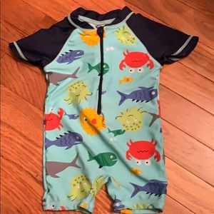 Other - Super Cute Infant Swimsuit SPF Fabric